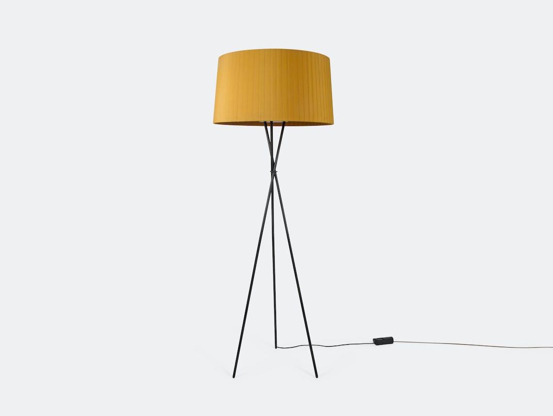 Santa And Cole Tripode G5 Floor Lamp Mustard