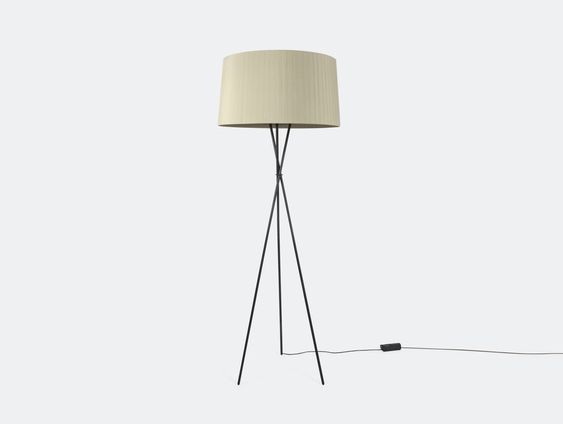 Santa And Cole Tripode G5 Floor Lamp Natural
