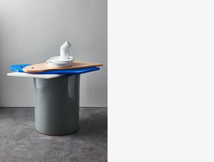 Serax glossy pawn side table