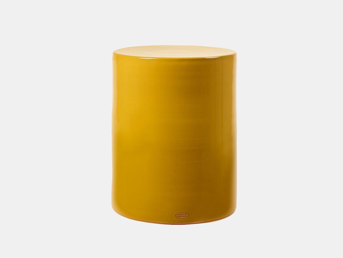 Serax pawn side table yellow