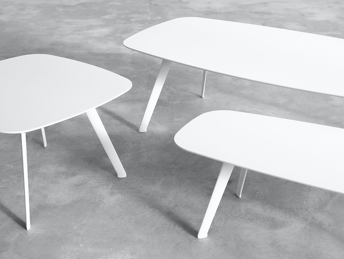 Stua Solapa Coffee Tables White Jon Gasca