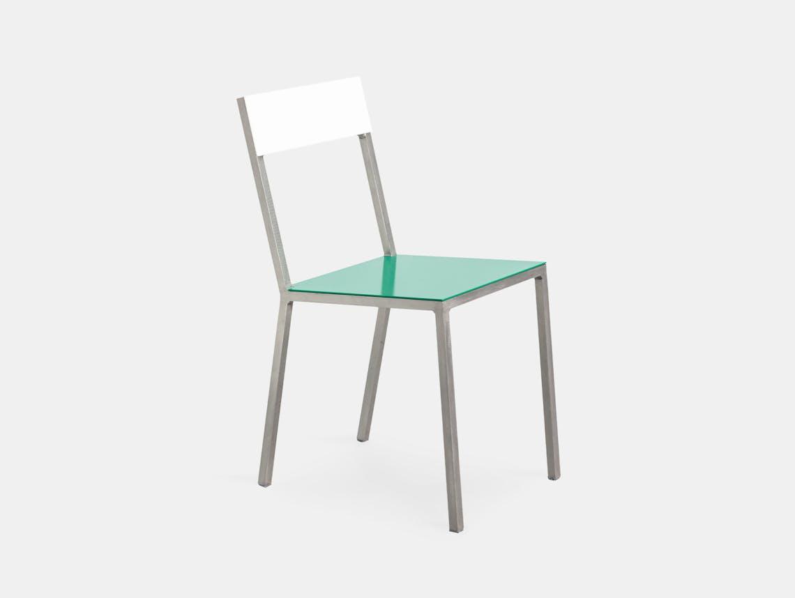 Muller Van Severen Alu Chair Valerie Objects Green White