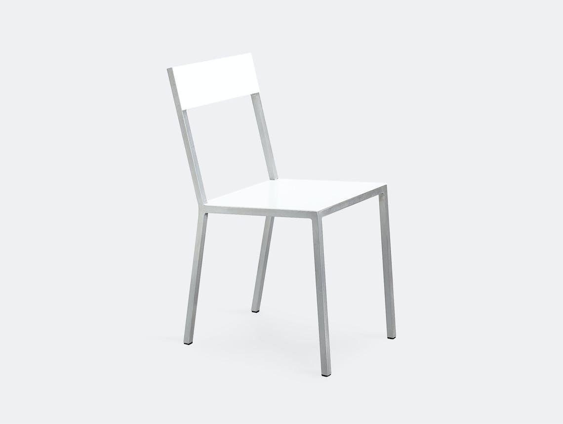Muller Van Severen Alu Chair Valerie Objects White White