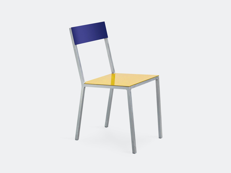 Muller Van Severen Alu Chair Valerie Objects Yellow Blue