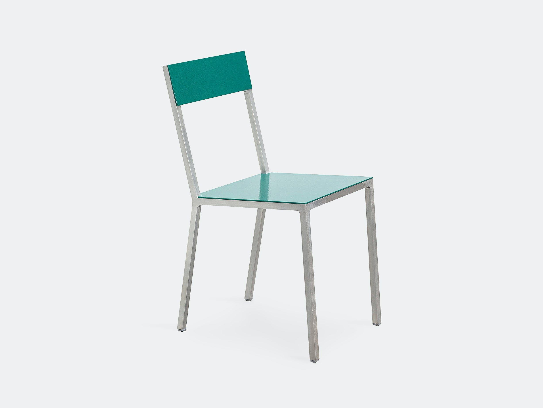 Muller Van Severen Alu Chair Valerie Objects hammergreen