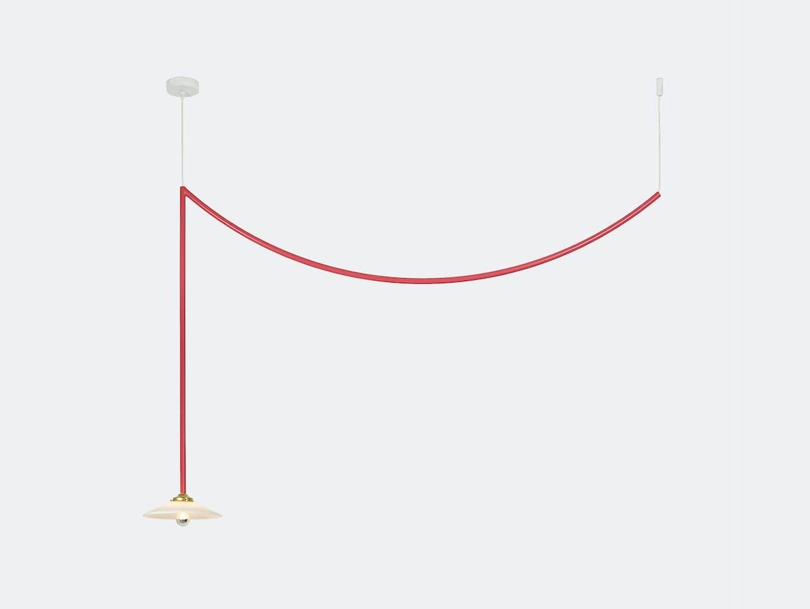 Muller van severen ceiling lamp no 4 valerie ojects red