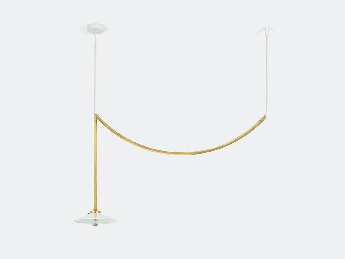 Muller van severen ceiling lamp no 5 valerie ojects brass