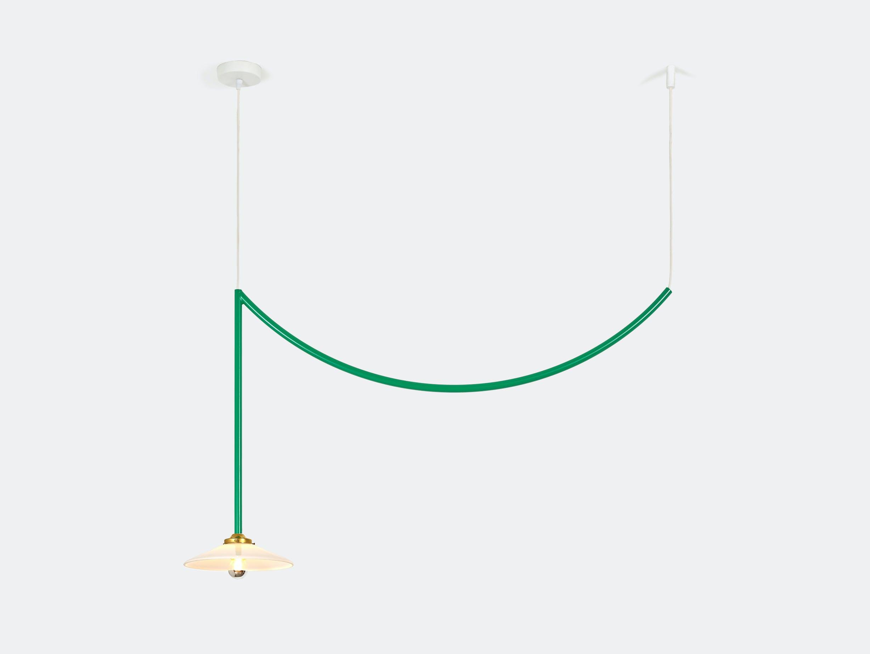 Muller van severen ceiling lamp no 5 valerie ojects green
