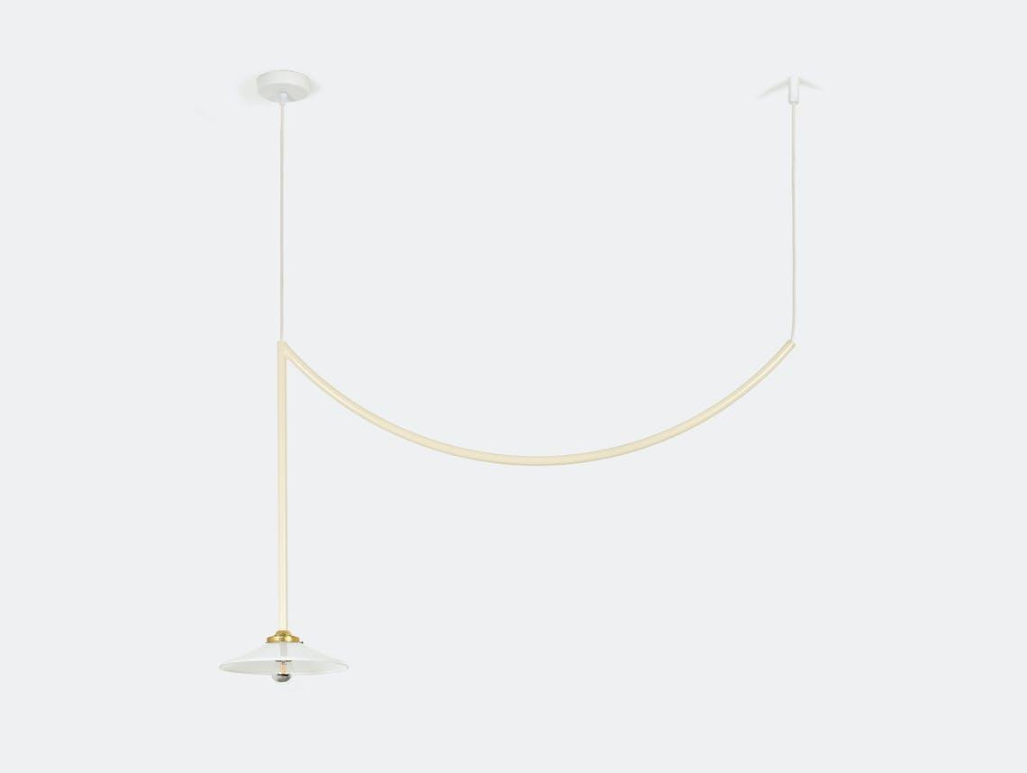 Muller van severen ceiling lamp no 5 valerie ojects ivory