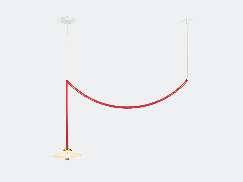 Muller van severen ceiling lamp no 5 valerie ojects red