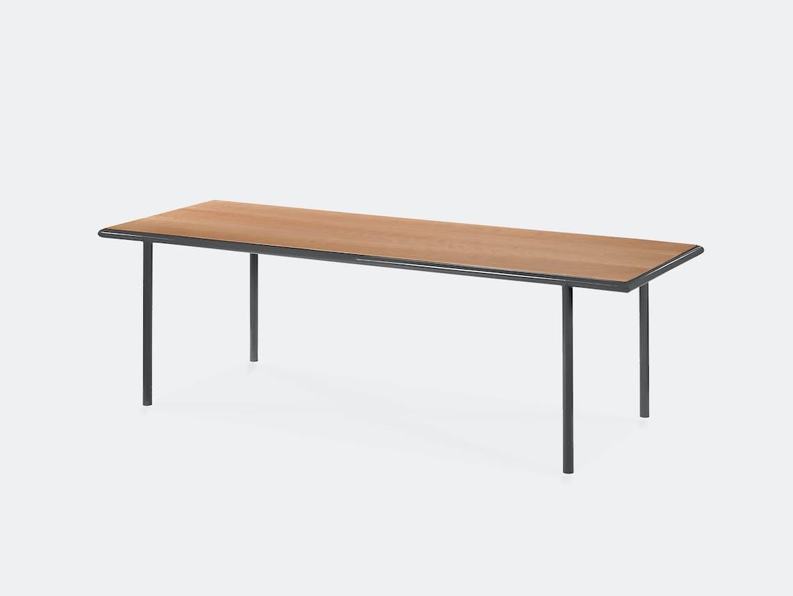 Muller van severen wooden table rectangular black cherry