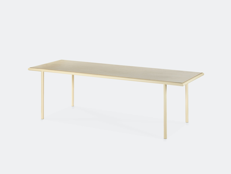 Muller van severen wooden table rectangular ivory birch