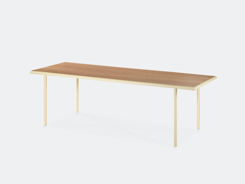 Muller van severen wooden table rectangular ivory cherry