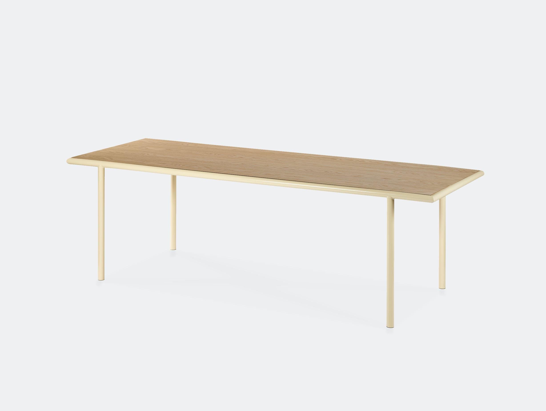Muller van severen wooden table rectangular ivory oak