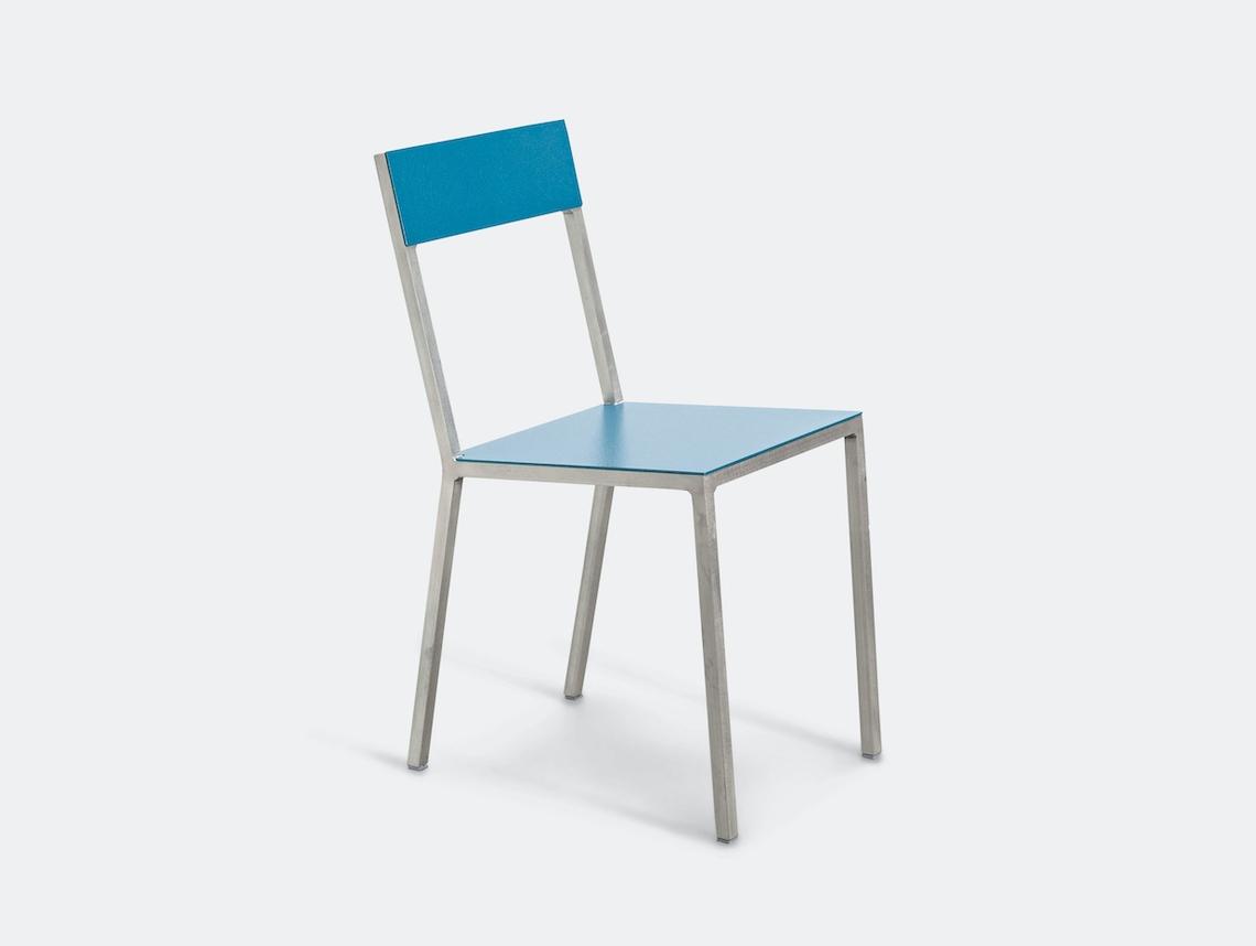 Valerie Objects Alu Chair Seathpblue Backhpblue Muller Van Severen