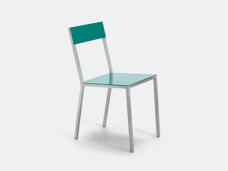 Valerie Objects Alu Chair Seathpgreen Backhpgreen Muller Van Severen