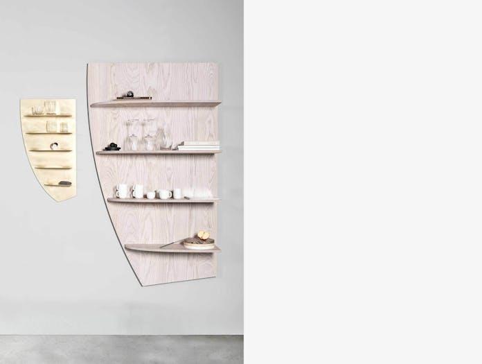 Etage shelves valerie objects ash brass