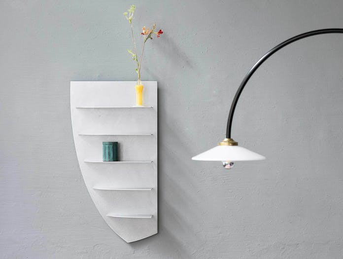 Etage small aluminium shelf valerie objects ls