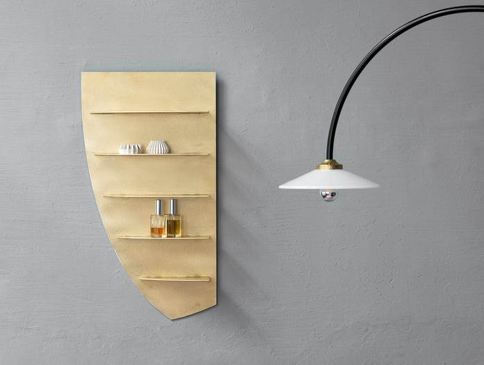 Etage small brass shelf valerie objects ls