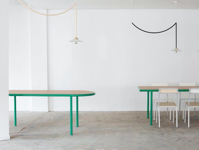 Muller van severen wooden table oval ls 1