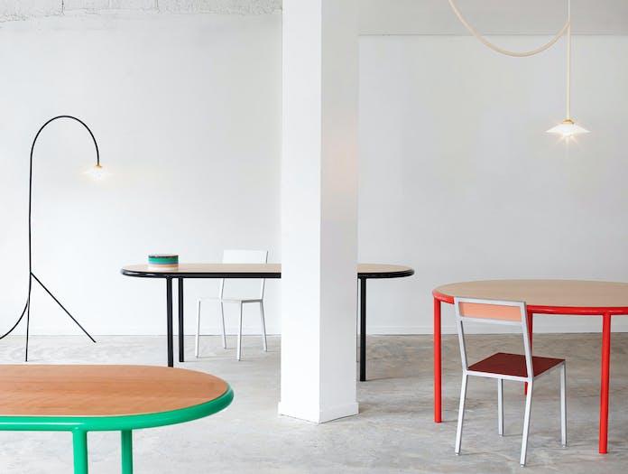 Muller van severen wooden table oval ls 2