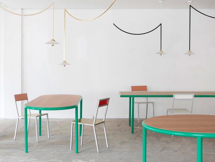 Muller van severen wooden table oval ls 3