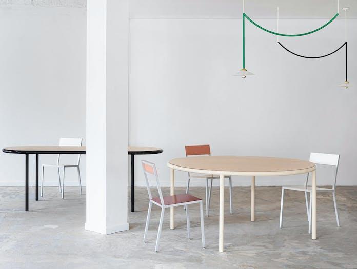 Muller van severen wooden table oval ls 4
