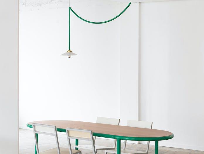 Muller van severen wooden table oval ls 6