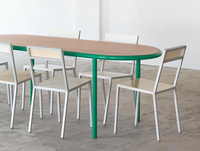 Muller van severen wooden table oval ls 7