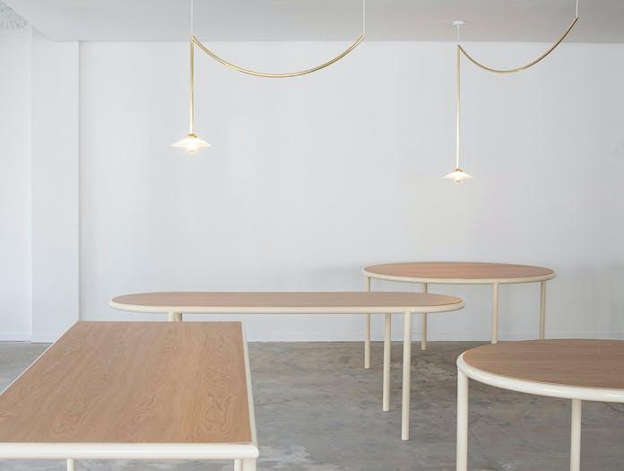 Muller van severen wooden table oval ls 9