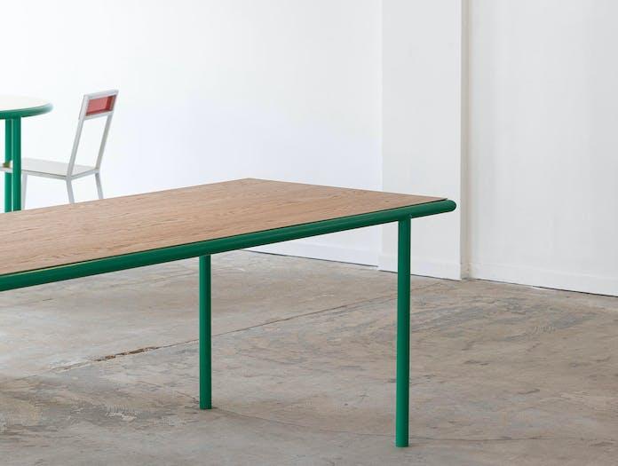 Muller van severen wooden table rectangle 5