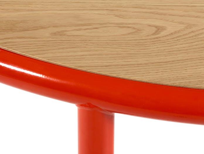 Muller van severen wooden table red oak cu
