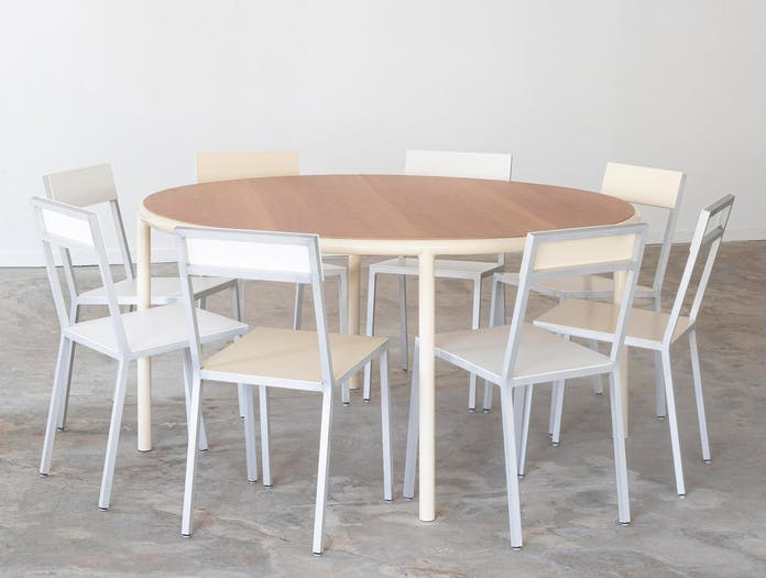 Muller van severen wooden table round small large 5