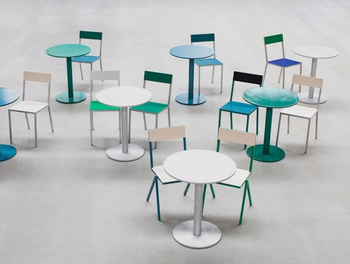 Valerie Objects Alu Chair And Table 2 Muller Van Severen