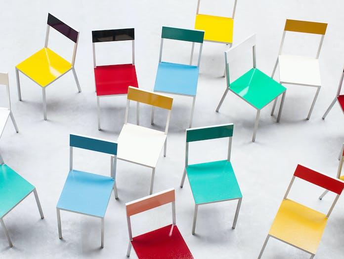 Valerie Objects Alu Chair And Table 7 Muller Van Severen
