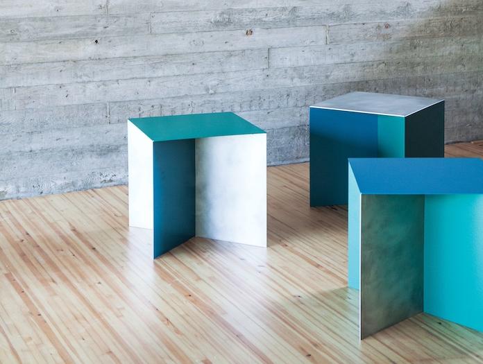 Valerie Objects Alu Square Table Muller Van Severen