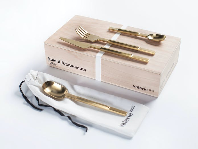 Valerie Objects Cutlery Box Koichi Futatsumata