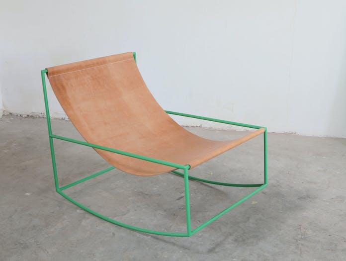 Valerie Objects First Rocking Chair Muller Van Severen