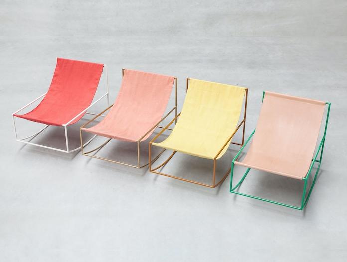 Valerie Objects Rocking Chair Group Muller Van Severen
