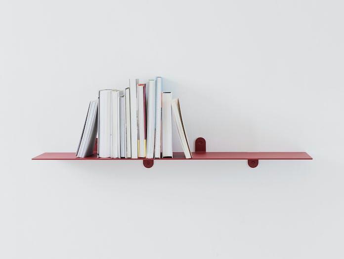 Valerie Objects Shelf 2 Red Muller Van Severen