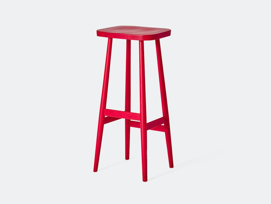 Very Good And Proper Bird Stool Red Michael Marriott