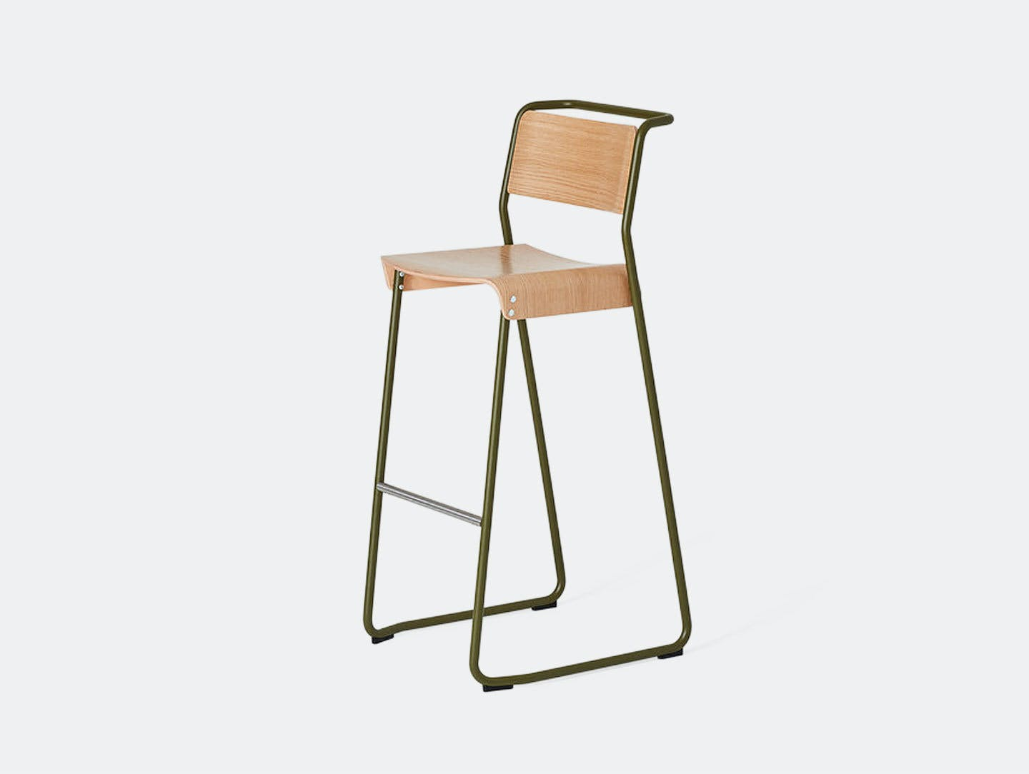 Very Good And Proper Canteen High Stool Klauser Carpenter