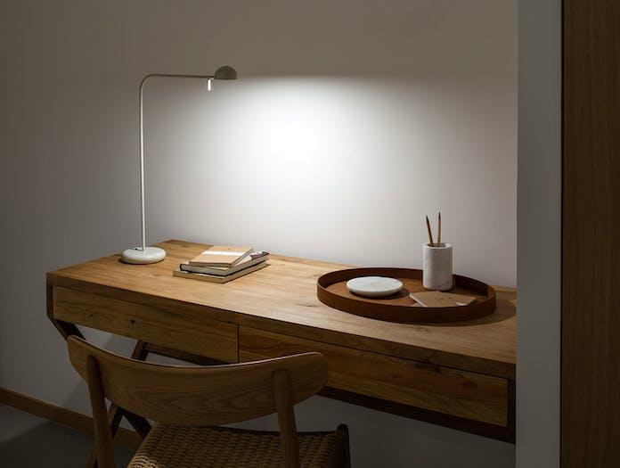 Vibia Pin 1655 Table Lamp Desk Ichiro Iwasaki