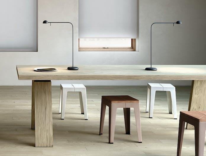Vibia Pin 1655 Table Lamps Black Ichiro Iwasaki