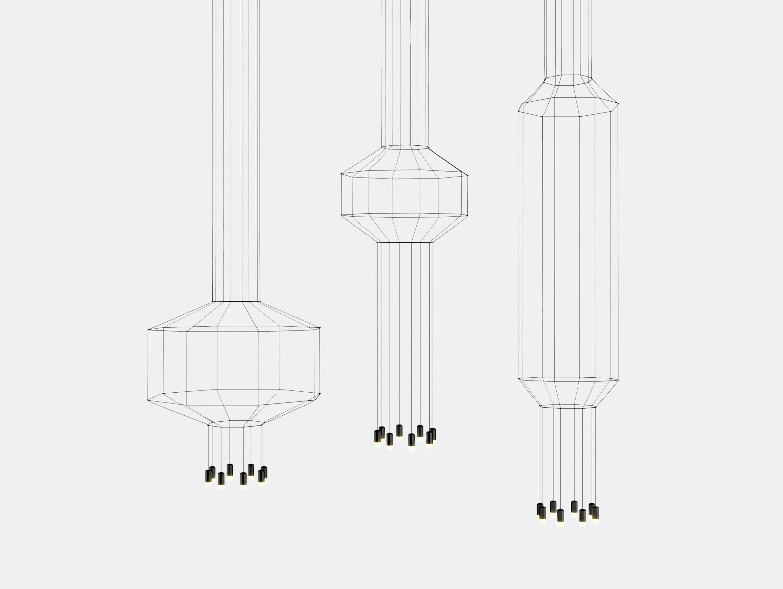 Vibia Wireflow Pendant Series 3 Arik Levy
