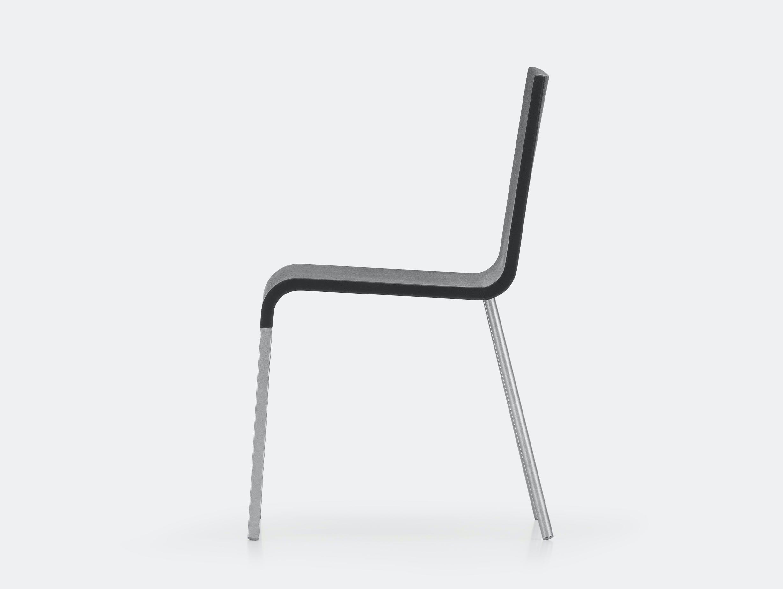 Vitra 03 chair black van severen silver ct 3