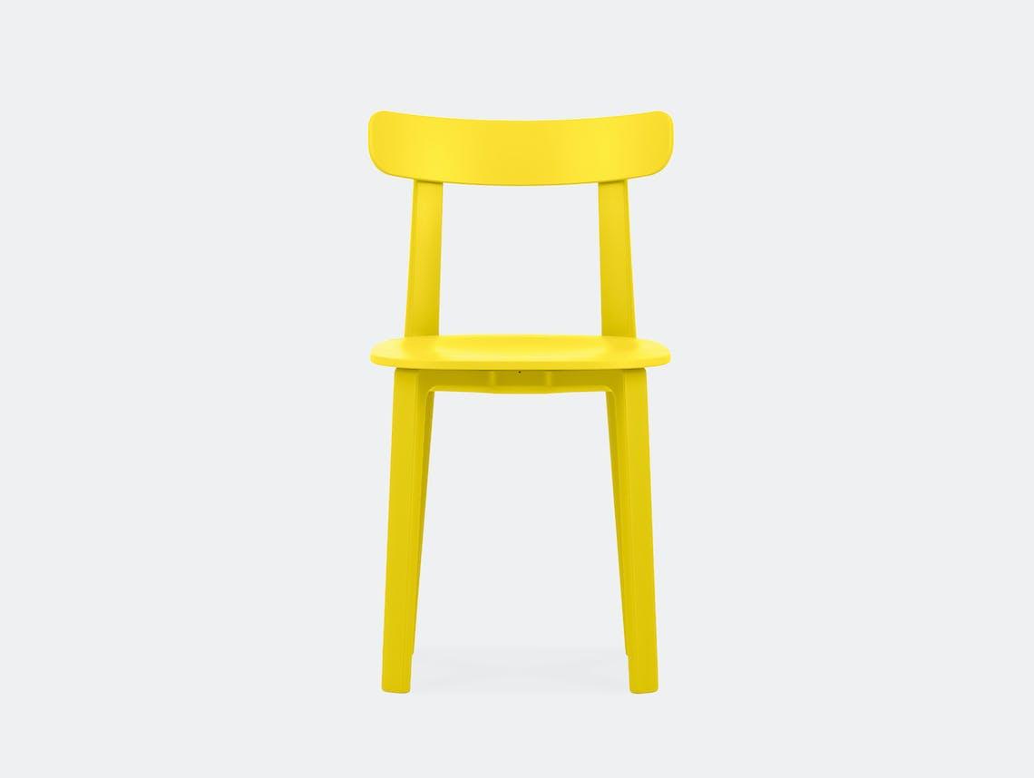 Vitra All Plastic Chair APC Morrison Buttercup