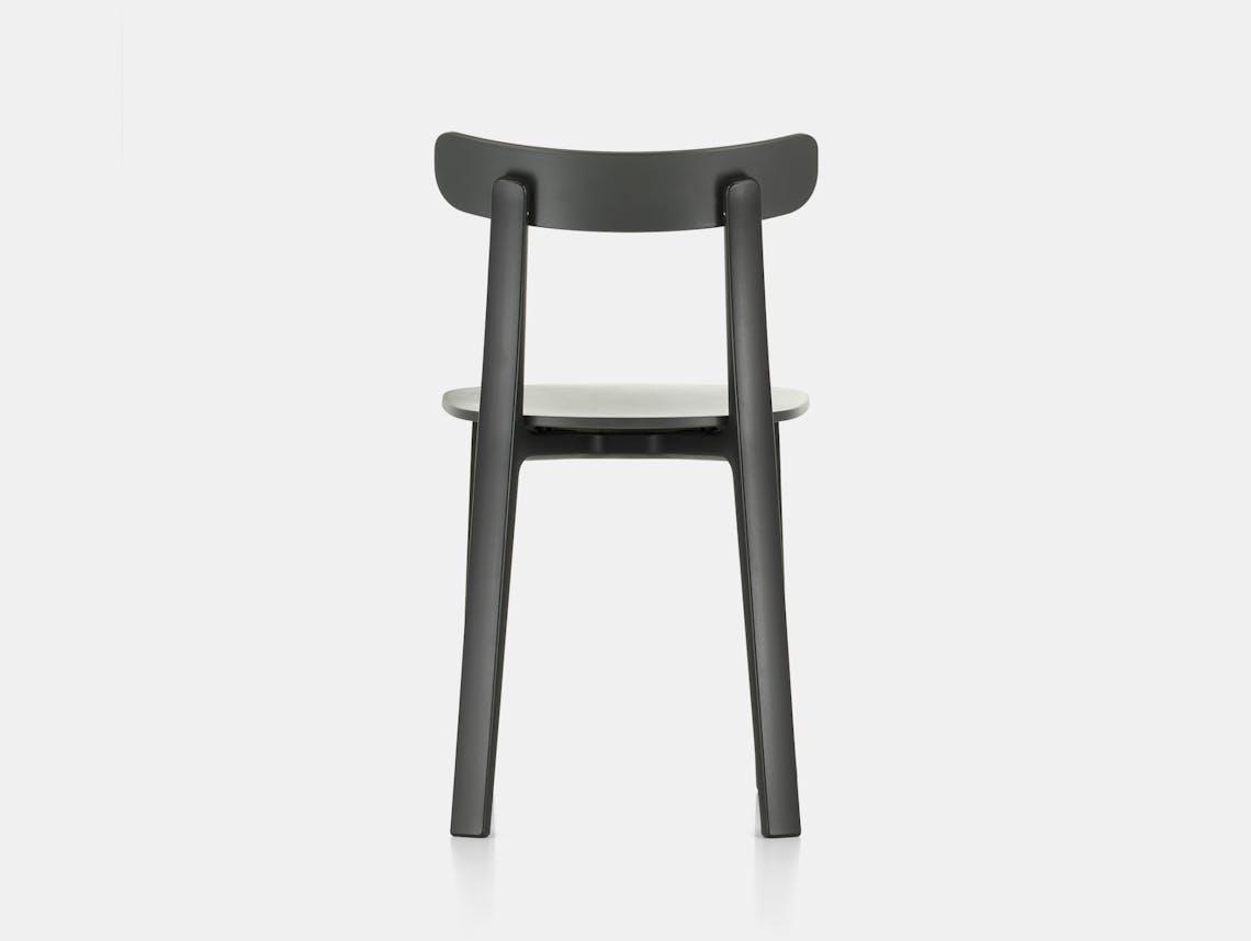 Vitra All Plastic Chair APC Morrison Graphite Grey