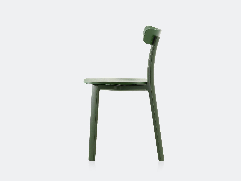 Vitra All Plastic Chair APC Morrison Green