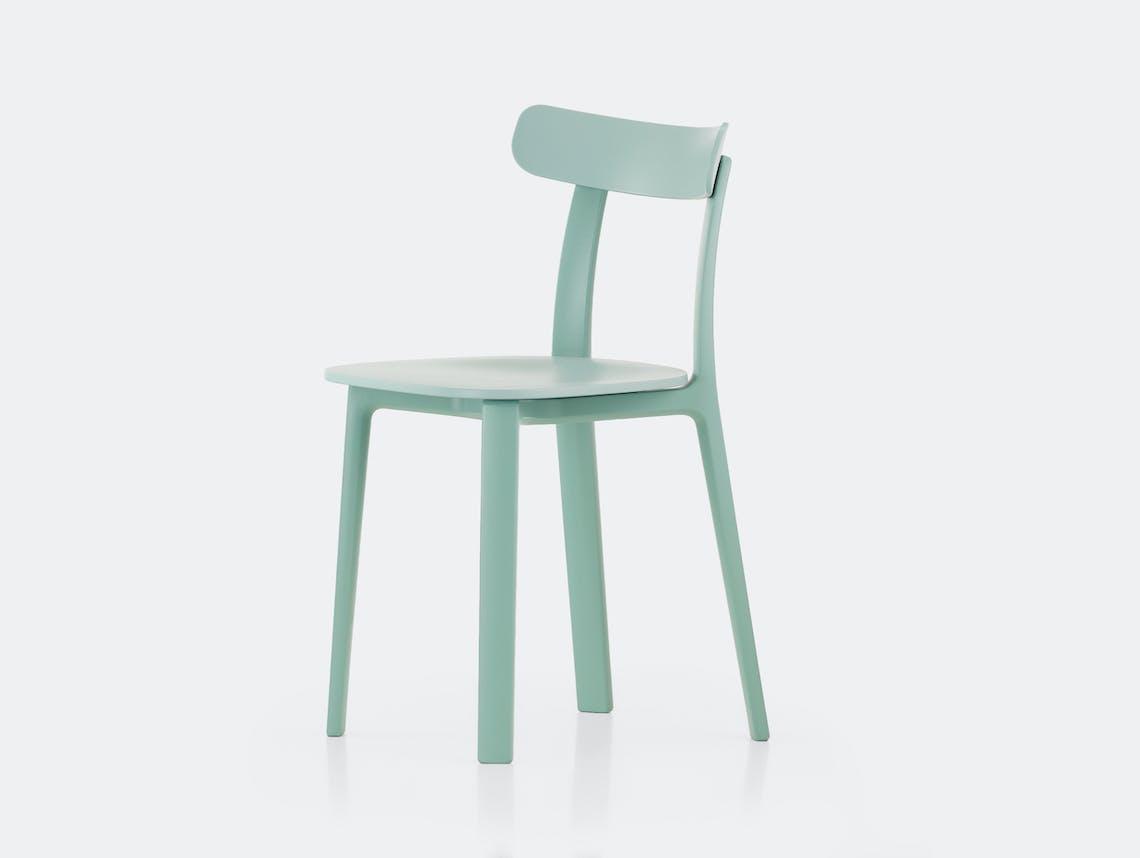 Vitra All Plastic Chair APC Morrison Ice Grey